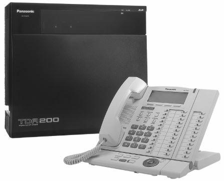 Hybrid Panasonic PBX system