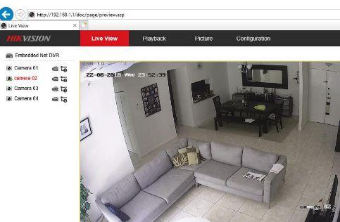 View CCTV Cameras on Phone